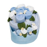 Celebration Baby Cake - Cornflower Blue