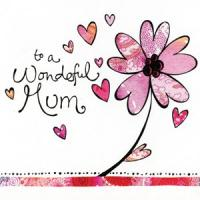 Wonderful Mum - Card