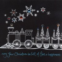 Christmas - Train - Card