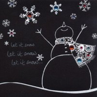 Christmas - Let it Snow - Card