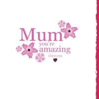 Mum You're Amazing - Card