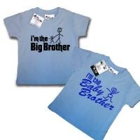 Brotherly Love T Shirt Gift Set Big Brother Baby Brother