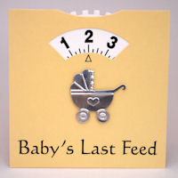 Baby Feed Wheel - Card - Lemon