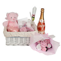 Design your own - Baby Gift Basket - Baby Girl