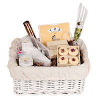 Design your own - Maternity Leave Gift Basket - Cream