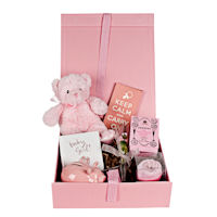 Design your own - Baby Gift Box - Baby Girl - Pink