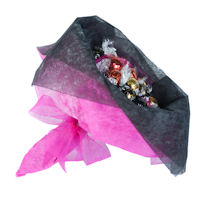 Mothers Day Chocolate Posy - Chic Pink - Large