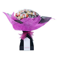 Lady in Waiting Chocolate Bouquet - Fuchsia Pink - Extra Large