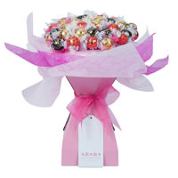 Sugar and Spice Baby Girl Chocolate Bouquet - Extra Large