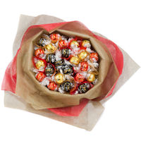 Christmas Chocolate Bouquet - Red and Gold