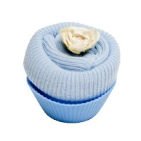 Fairy Cake - Sock - Cornflower Blue