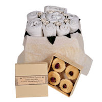 Mummy and Me Gift Set - Classic White