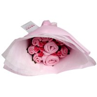 Twins - Welcome Bouquet - Sugar Pink