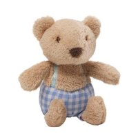 Gund - Mini Meadow Rattle - Briar Teddy Bear