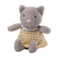 Gund - Mini Meadow Rattle - Clove Cat