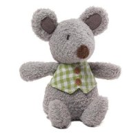 Gund - Mini Meadow Rattle - Mossly Mouse