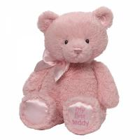 Gund - My First Teddy - Baby Girl Pink