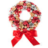 Chocolate Christmas Wreath - Large