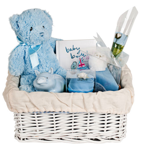 Make Your Own Baby Gift Basket Ideas : Design your own baby gift basket boy