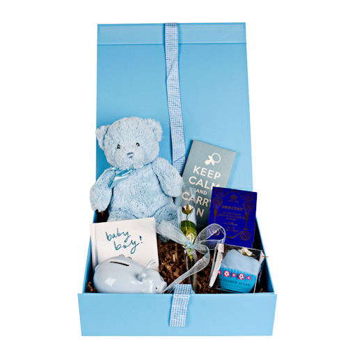 Baby Boy Gift Box : Design your own baby gift box boy blue