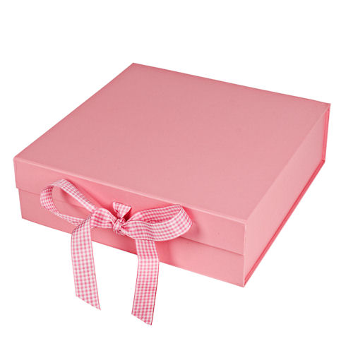 Baby Girl Gift Box : Design your own baby gift box girl pink